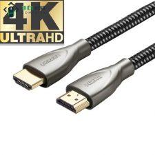 CÁP HDMI 2.0 4K60HZ ULTRA HD VỎ CARBON ĐẦU KIM LOẠI 1 MÉT ĐẾN 20 MÉT CHÍNH HÃNG UGREEN