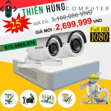 BỘ 2 CAMERA HIKVISION 2.0MP